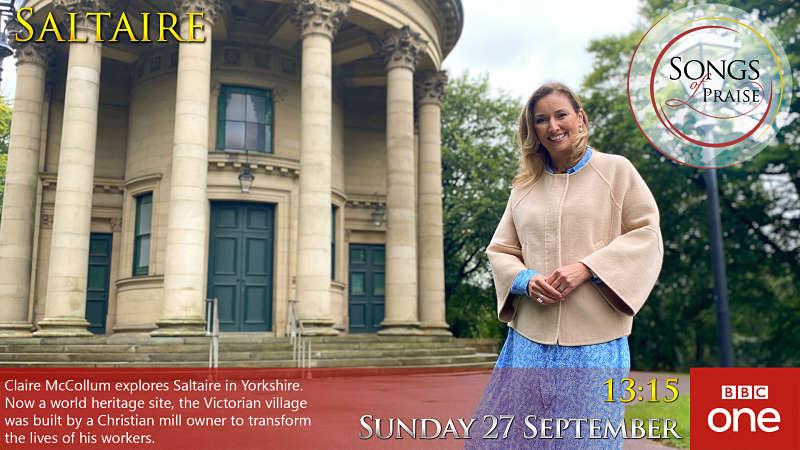 Songs of Praise from Saltaire BBC1 27 September 2020