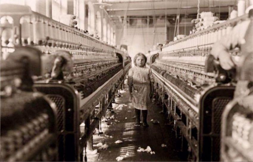 Victorian Child in Salts Mill
